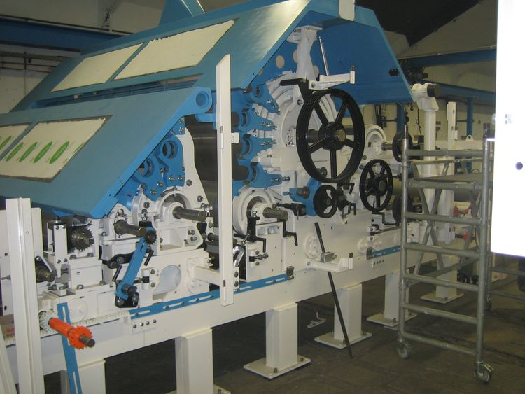 Hergeth RS 80 Carding Machine