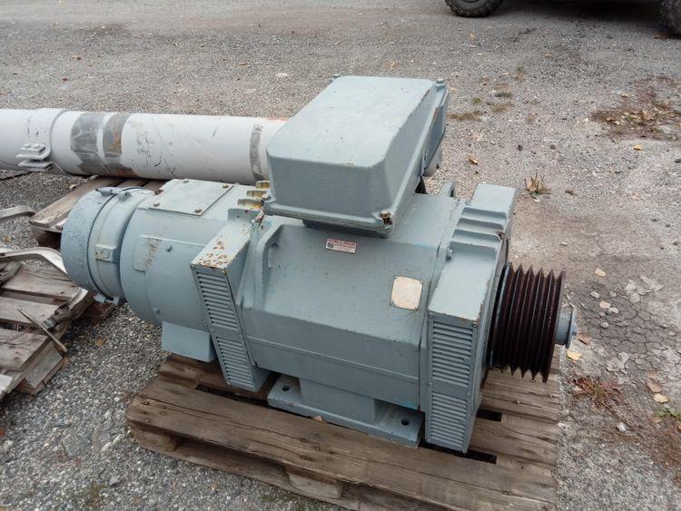 Poma Electric motor of a POMA H210 ski lift
