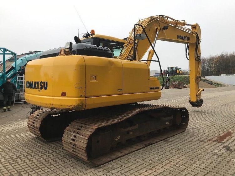 Komatsu PC160LC-8 Excavator