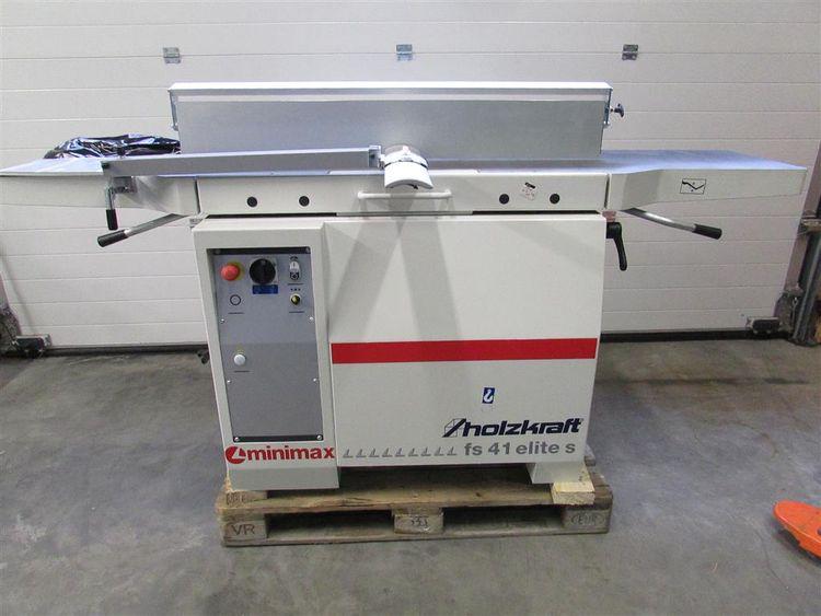 Holzkraft fs 41 es-tersa Dressing and Thicknessing Machine