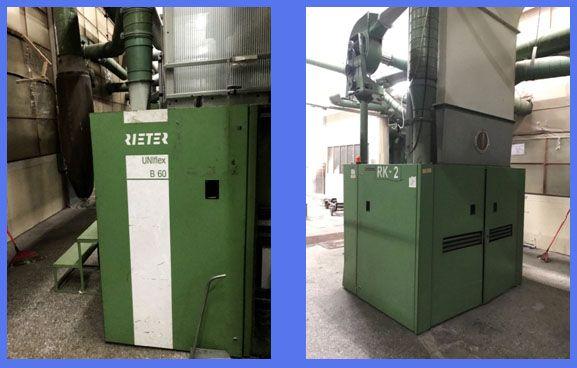 4 Rieter Uniclean B11, Uniflex B60 Pre - Cleaner
