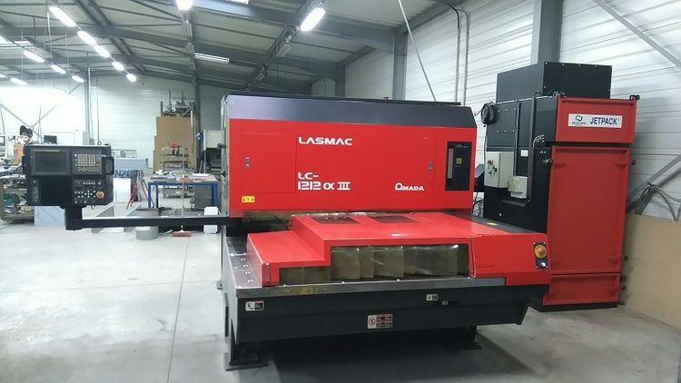 Amada LC 1212 ALPHA III Semi Automatic
