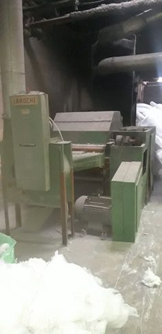 Laroche single drum tearing machine