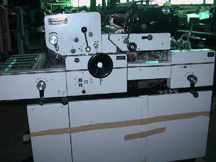 Multilith 1962 MC, 2 colors Offset machine