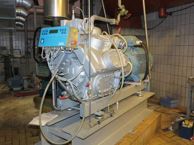 Sabroe SMC 108S 259 kW/76 tons