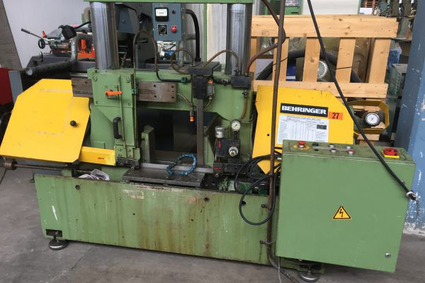 Behringer HBP 360A Band Saw Semi Automatic