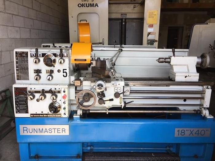 Runmaster Engine Lathe Variable 6246/1000