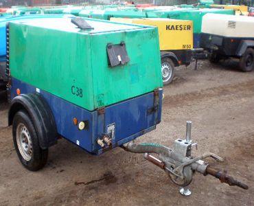 Compair, Holman C38 Compressor 130cfm @ 100psi