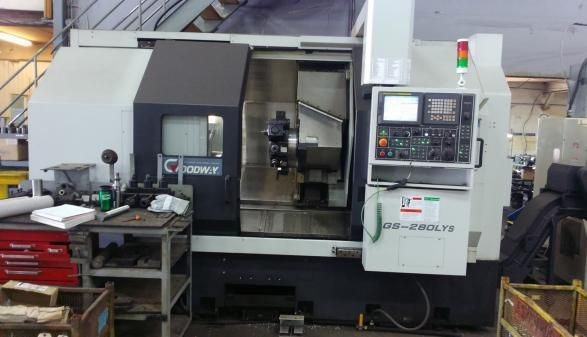Goodway Fanuc Max. 3500 rpm GS-280LYS 2 Axis