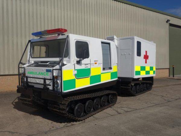 75 Hagglunds Bv206 Ambulance