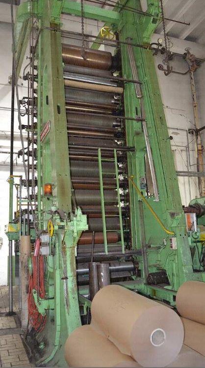 Bruderhaus Supercalander - 15 Roll calander 1200 mm