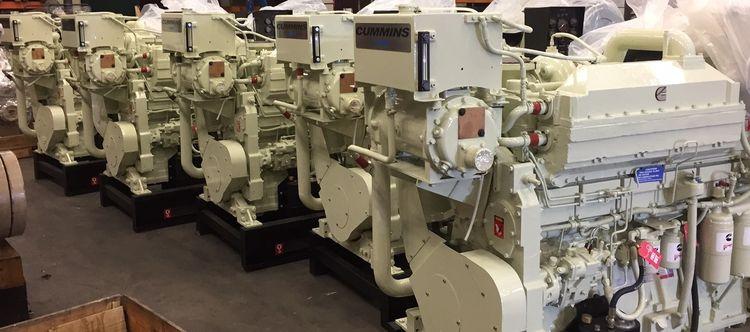 Cummins KTA19-M3 Diesel Marine Engine