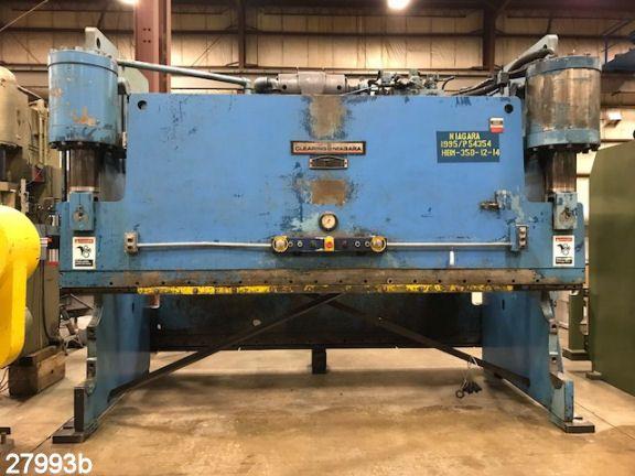 Niagara HBM-350-12-14 350 Ton