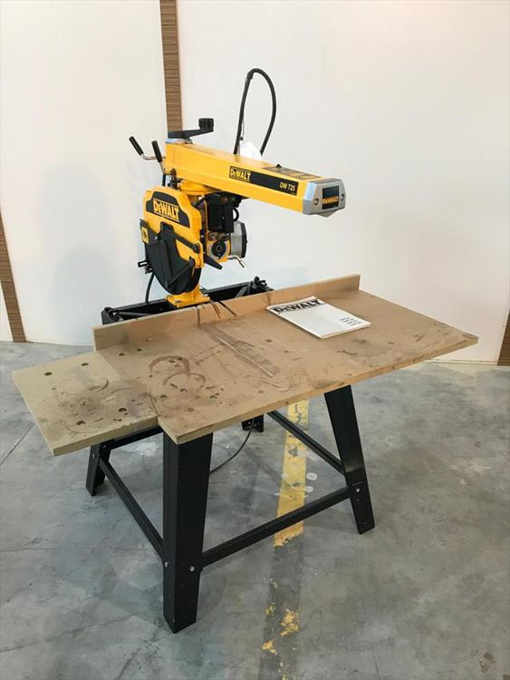 Dewalt Dw 725 Radial Saw