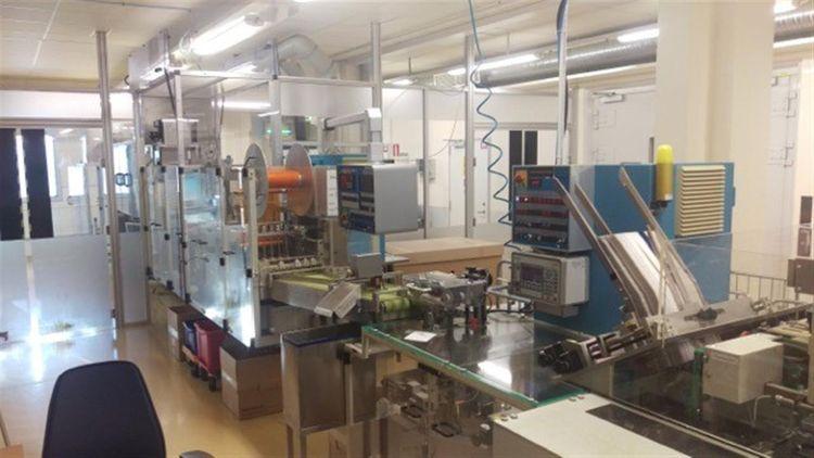 UHLMANN UPS 4 C 100 220 x 284 mm BLISTER PACKING LINE