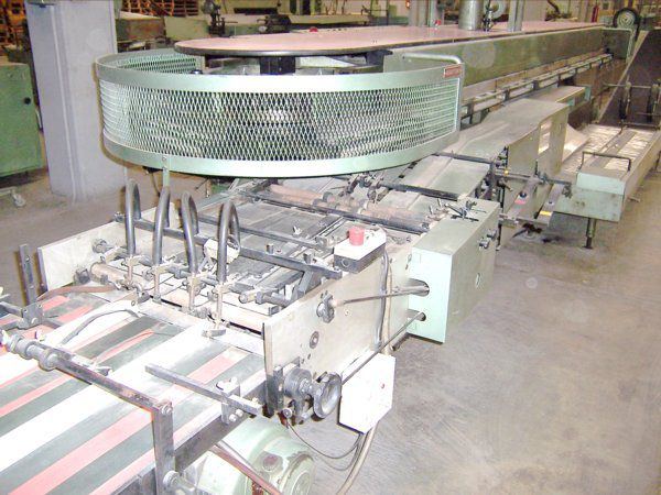 MULLER MARTINI NB2 WITH 15 TYPE ZR15 GATHERERS, Perfect Binder
