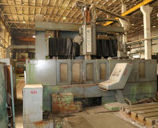 Comau VLN 14 with tool changer CNC Vertical turning lathe