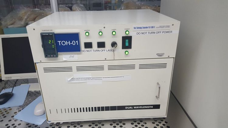 Toho FLX-2320-S Thin Film Stress MeasurementSystem