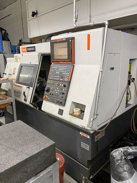 Mazak MAZATROL MATRIX CNC CONTROL 4000 rpm Nexus QTN 250 II Universal CNC Lathe 2 Axis