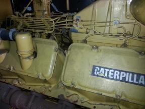 Caterpillar 3412 TTA 480kw