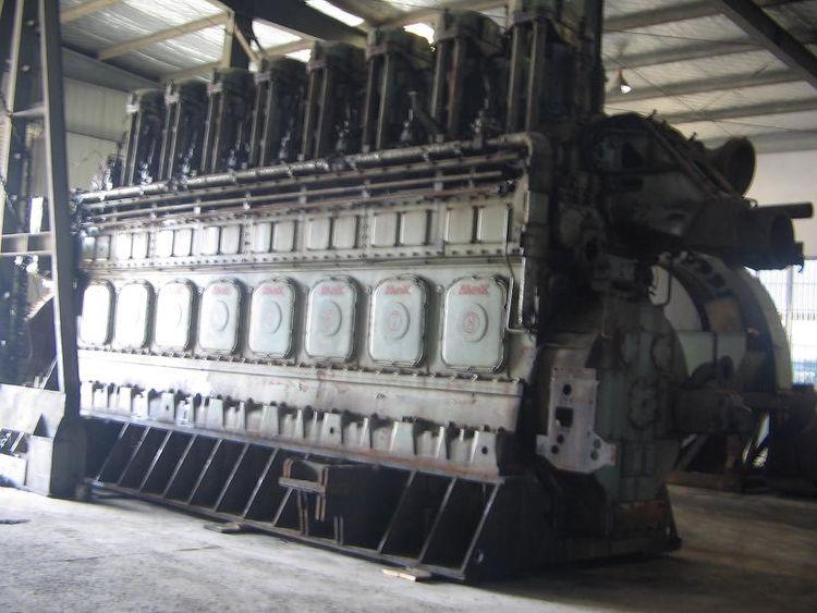 2 Mak 8M601 Industrial Generator 11,000 kVA