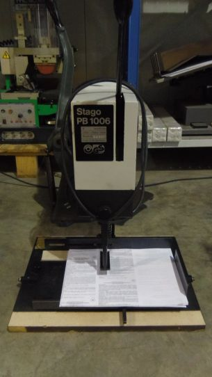 Stago PB 1006 b, Tabletop Single Head Paperdrill