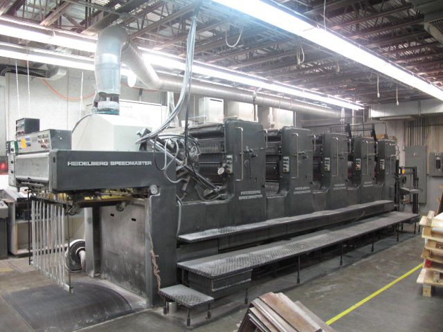 Heidelberg SM102FP, 5 Colors Offset Machine Max. 28 x 40""