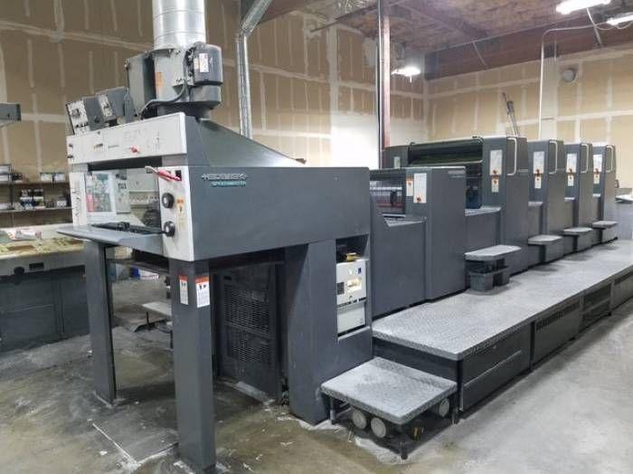 Heidelberg SM 74-4, Sheetfed offset machine 4 28 x 20 inch