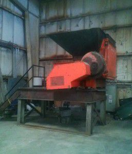 Weima WLK15, Single Shaft Shredder