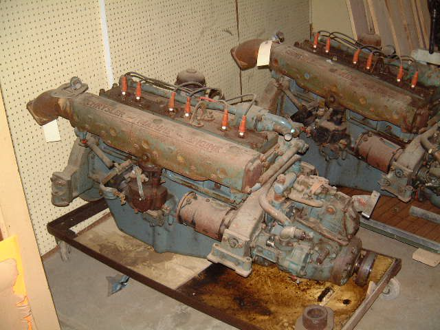 2 Others Chrysler  Gas Engines with V-Drives