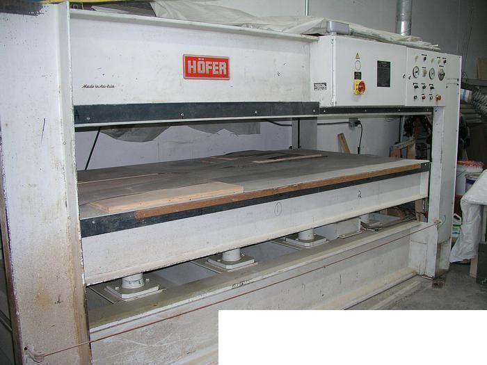 Hofer HP5000, Hot Press