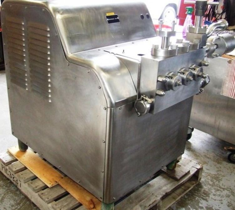 Cherry Burrell SS2100 VBR, Homogenizer