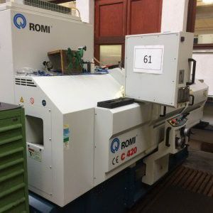 Romi system Siemens 802D Variable C420 2 Axis