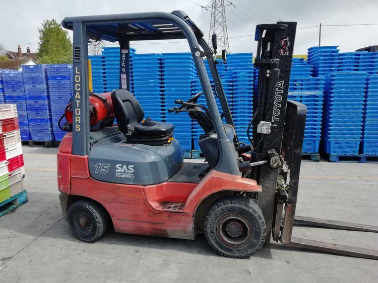 Toyota 7FGF15 1.5 Ton Gas Truck