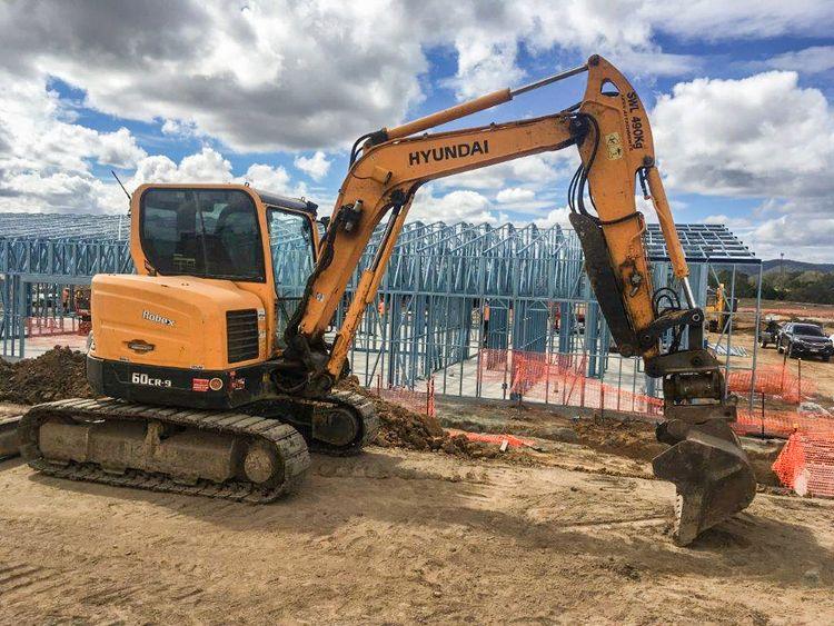 Hyundai R60CRD-9 Excavator