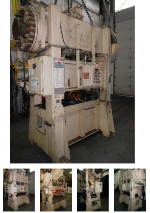 Clearing Straight Side Double Crank Press Max. 100 Ton