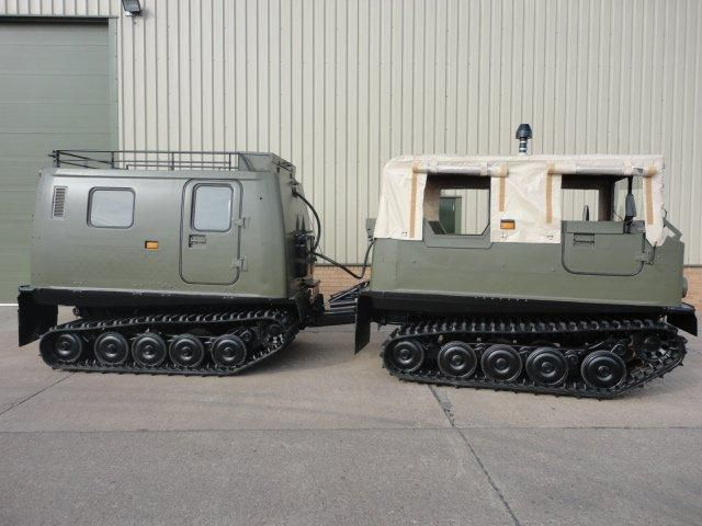 100 Hagglunds Bv206 Soft Top (Front) & Hard Top (Rear)