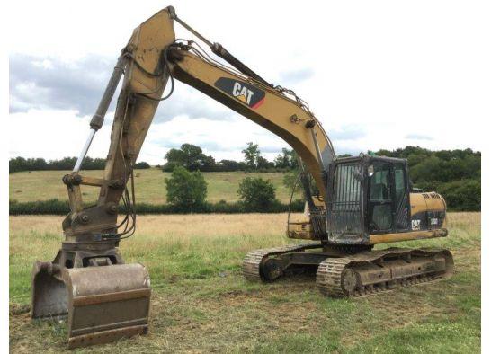 Caterpillar 320D Crawler excavators