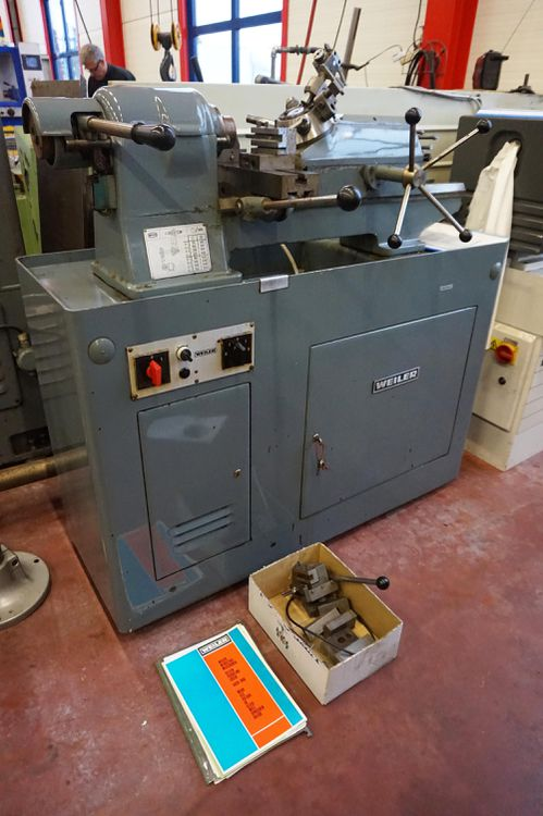 Weiler Engine Lathe 3600 rpm RDU260