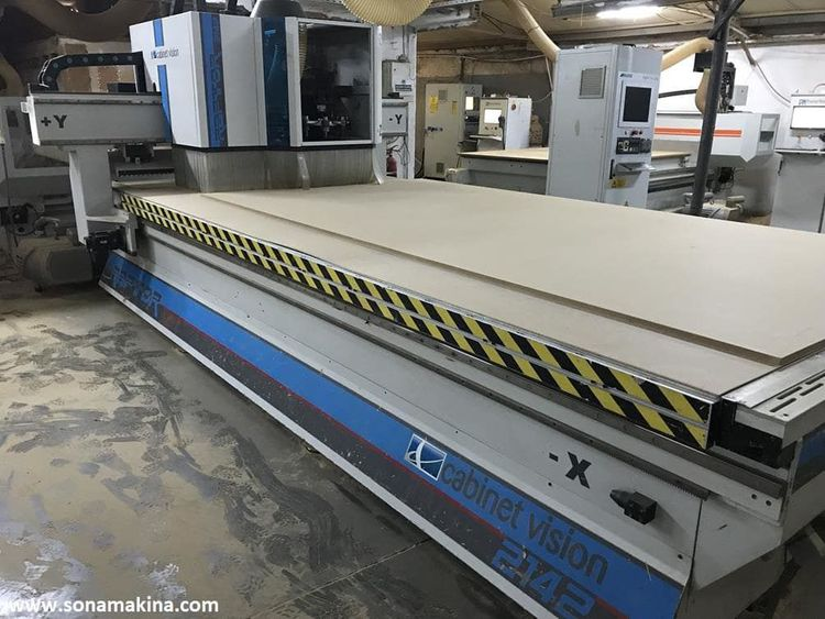 AES CABINET VISION 2142 FLAT CNC