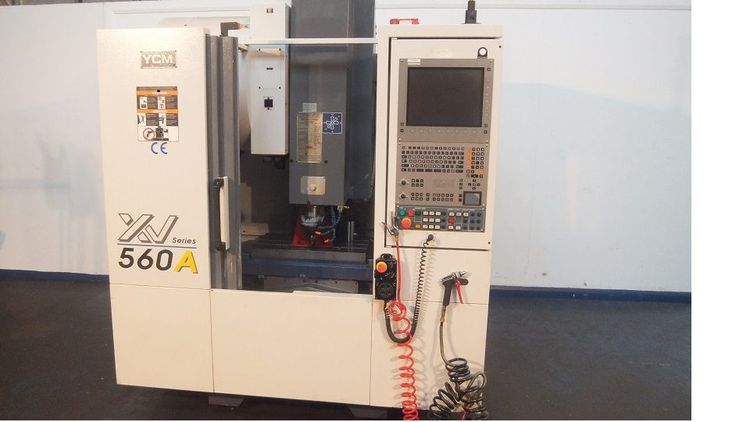 YCM XV 560A Vertical Machining Centre 3 Axis