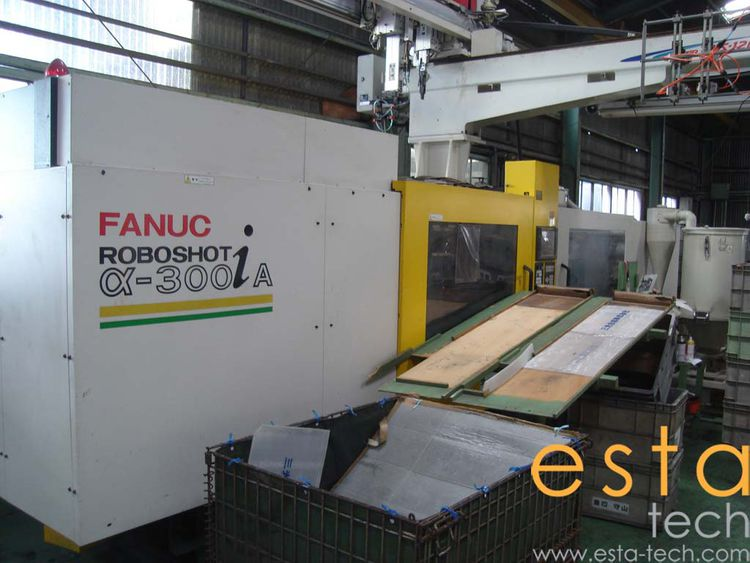 Fanuc, Roboshot Alpha-300iA, ELECTRIC INJECTION MOLDING MACHINE 300 Ton