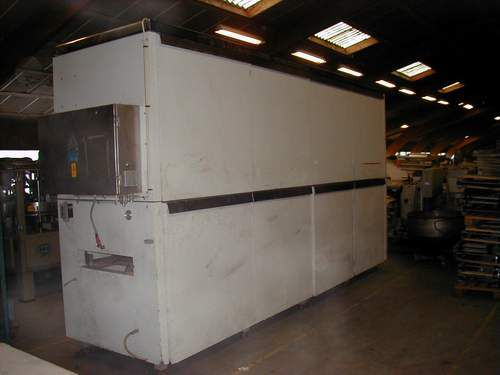 Haas WK 90 Cooling Tunnels - Wafers Machine