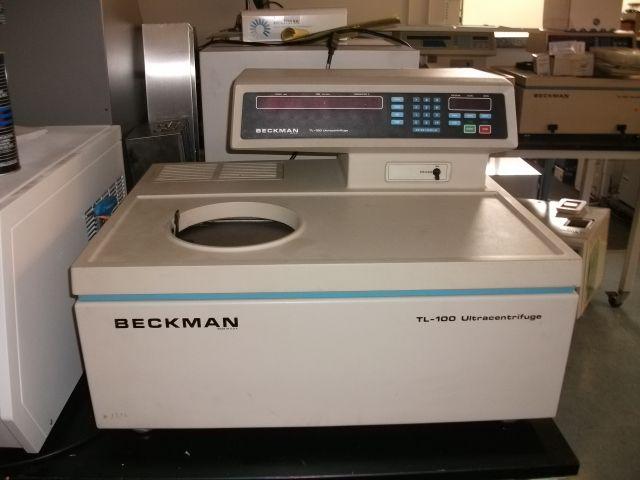 Beckman TL-100, Benchtop ultracentrifuge