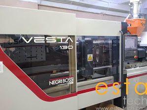 Negri Bossi VESTA 130/H420, PLASTIC INJECTION MOULDING MACHINE 130  Ton