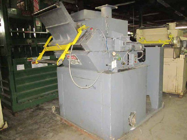 Nelmor G1436MB, Granulator with Feed Rolls