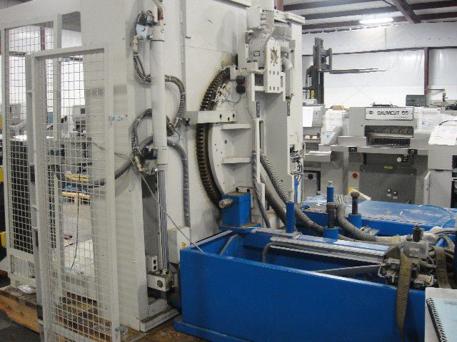 Baumann BSW7 1800 LDV,PILE TURNER AUTOMATIC SYSTEM