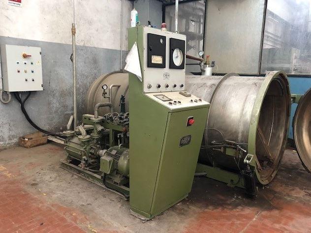 Obem VFPV 300/130 Under vacuum and under pressure yarn steamer