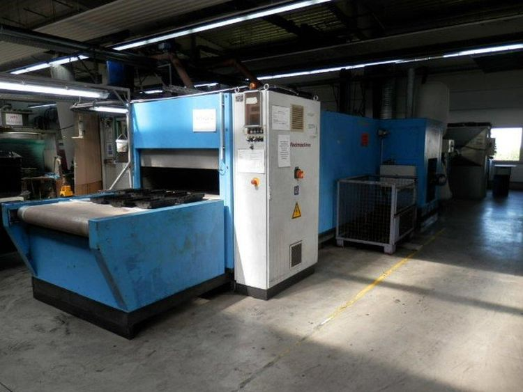 Online auction of surface treatment machines, such as: flocking machines AIGLE Macchine Srl and MAAG