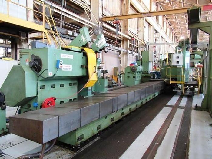 "Leonard Safop Siemens 840 CNC Control 1875 RPM 70/L-MC 90"" x 32' CNC Live Spindle C-Axis Lathe 2 Axis"